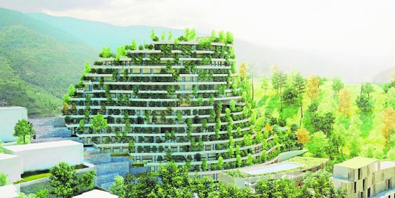 Innovation in der Idylle: Das Resort Wanfeng Valley  der Cachet Hotel Group in der Provinz Guizhou.BILD: ZVG